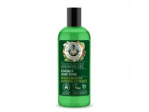 Babička Agafia Přírodní sprchový gel  Energie 260 ml