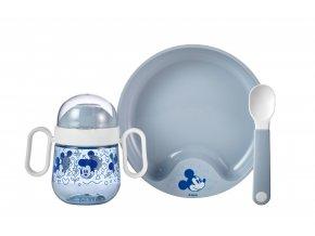 Mepal Dětská jídelní sada Mio 3 ks Mickey Mouse
