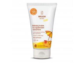 Weleda Dětský krém na opalování SPF 50 Sensitive 50 ml