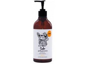 Yope Tekuté mýdlo na ruce Cedr a hořký pomeranč  500 ml