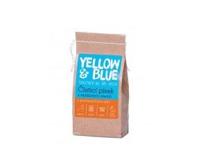 Dárek k nákupu Yellow & Blue Čisticí písek z mýdlových ořechů 250 g