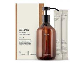 Equa Care Sada Sprchový gel zázvor a limetka 2 x 360 ml