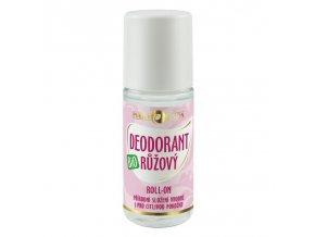 Purity Vision Růžový deodorant roll-on BIO 50 ml