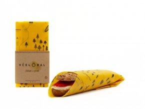 Včelobal Ekologický voskovaný ubrousek L Turista 1 ks