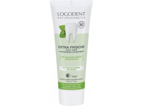 Logona Extra fresh daily care zubní krém Bio Máta 75 ml