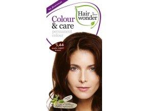 Hairwonder Dlouhotrvající barva Bio Tmavě měděná hnědá 3.44 100ML