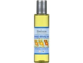 Saloos Jemný dětský olej 125ml
