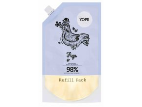 Yope Tekuté koupelnové mýdlo Fík náhradní náplň 500ml