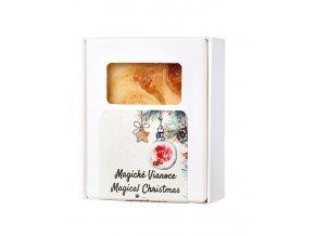 Soaphoria Magické vánoce Tuhé mýdlo 110 g
