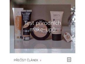 Test přírodních make-upů