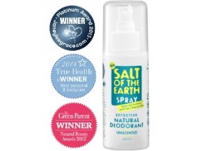 Crystal Spring Salt of the Earth deospray 100 ml