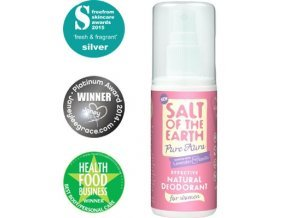 Crystal Spring Salt of the Earth Pure Aura deospray 100 ml