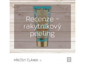 Recenze - rakytníkový peeling pro vlasovou pokožku