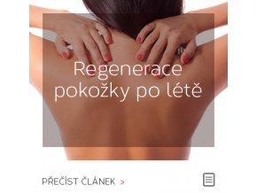 Regenerace pokožky po létě