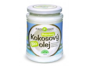 Purity Vision Bio Kokosový olej BIO 600 ml