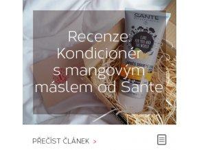 Recenze - Kondicionér s mangovým máslem od Sante