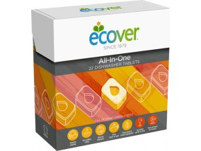 ECOVER Tablety do myčky All-In-One 25 ks