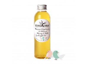 Soaphoria Babyphoria Organický masážní a koupelový olej na dobrou noc 150ml