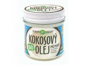 Purity Vision Fair Trade Kokosový olej Biokokosák 120 ml