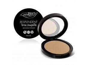 PuroBio Cosmetics Kompaktní bronzer matující 01 9g