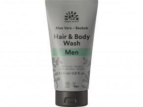 Urtekram Sprchový gel a šampón MEN 150ml BIO