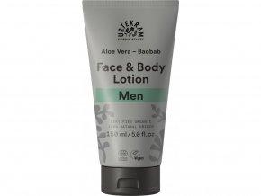 Urtekram Krém na tělo i obličej MEN 150ml BIO