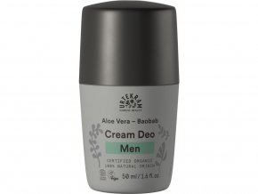 Urtekram Men krémový deodorant s aloe a baobabem BIO 50 ml