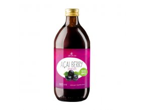 Allnature Acai Berry šťáva 100 % BIO 500 ml
