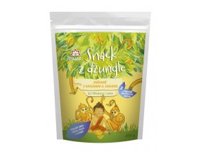 Iswari Snack z džungle BIO - snídaně s banánem a jablkem 300g
