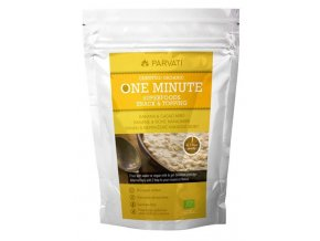 Iswari One minute superfoods snack & topping BIO - Banán a nepražené kakaové boby 300g