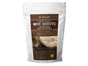 Iswari One minute superfoods snack & topping BIO - Nepražené kakao & goji 300g