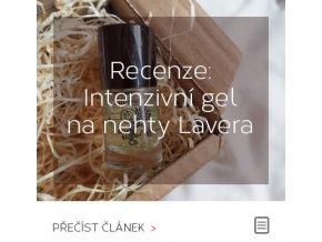 Recenze - Intenzivní gel na nehty Lavera