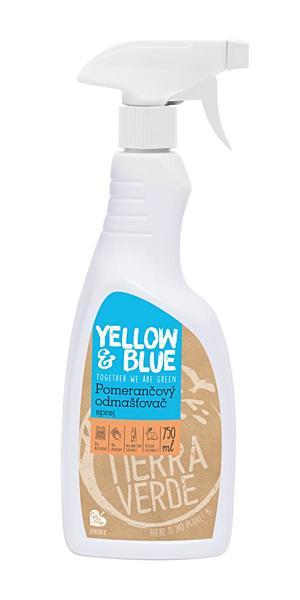 Yellow & Blue Pomerančový odmašťovač - sprej 750ml + DOPRAVA ZDARMA po celý rok!