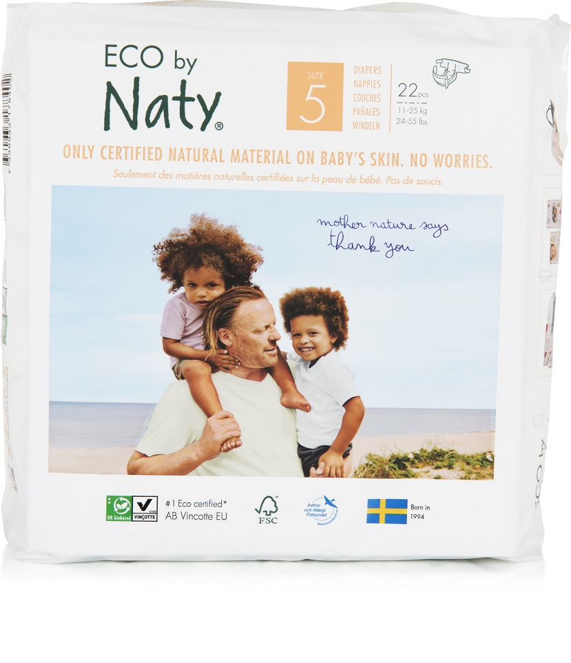 Naty Nature Babycare Junior 11-25 kg 23 ks