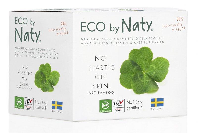 Naty Nature Babycare Naty Nature Dámské prsní vložky pro kojící ženy 30 ks + DOPRAVA ZDARMA po celý rok!