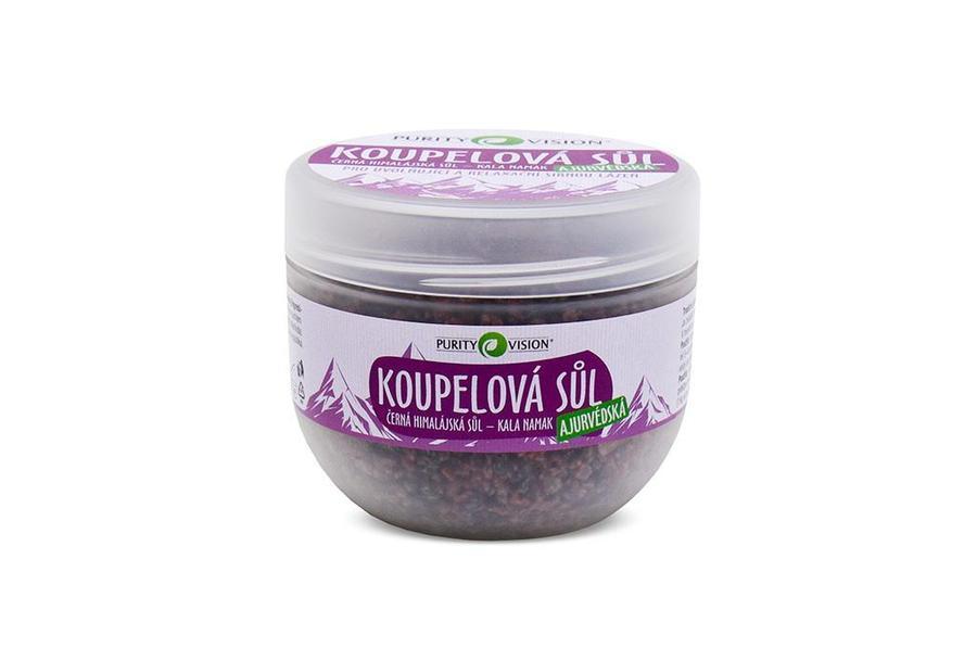 Purity Vision Ajurvédská koupelová sůl 500 g + DOPRAVA ZDARMA po celý rok!