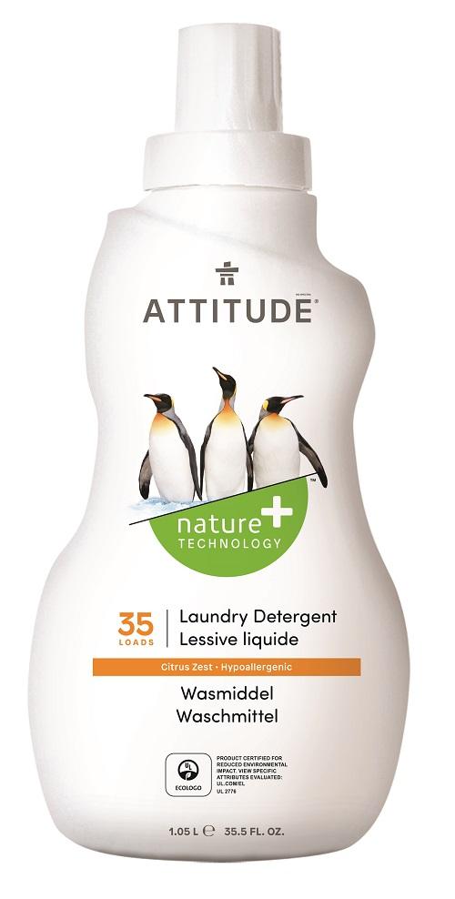 Attitude Prací gel s vůní citronové kůry 1050 ml