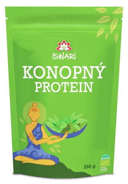 Iswari Bio Konopný 50% protein 250 g + DOPRAVA ZDARMA po celý rok!