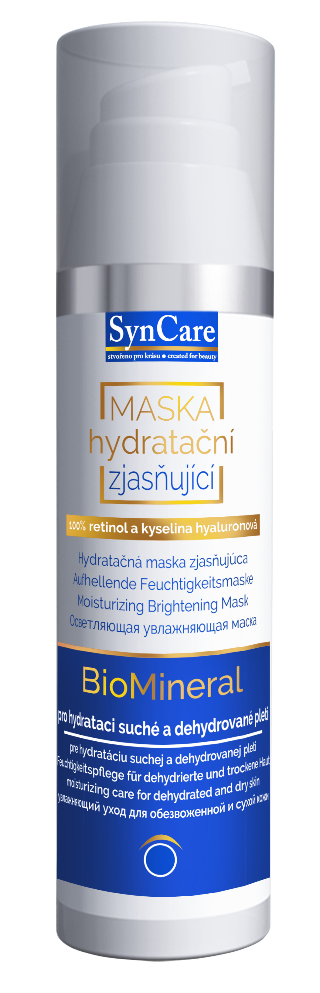 Syncare Hydratační zjasňující maska BioMineral 75 ml + DOPRAVA ZDARMA po celý rok!