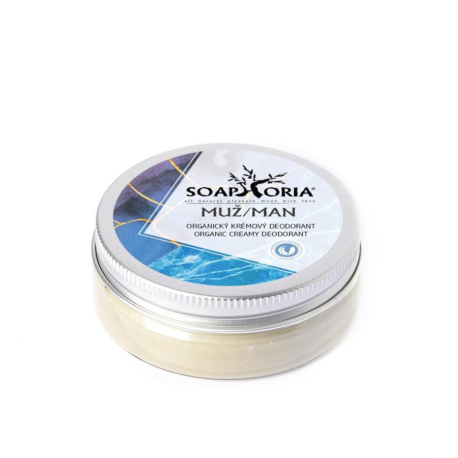 Soaphoria Přírodní krémový deodorant Soapgasm Muž 50 ml + DOPRAVA ZDARMA po celý rok!