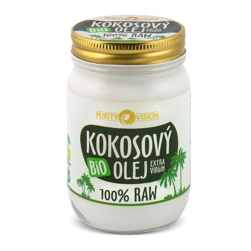 Purity Vision Raw kokosový olej 300 ml + DOPRAVA ZDARMA po celý rok!