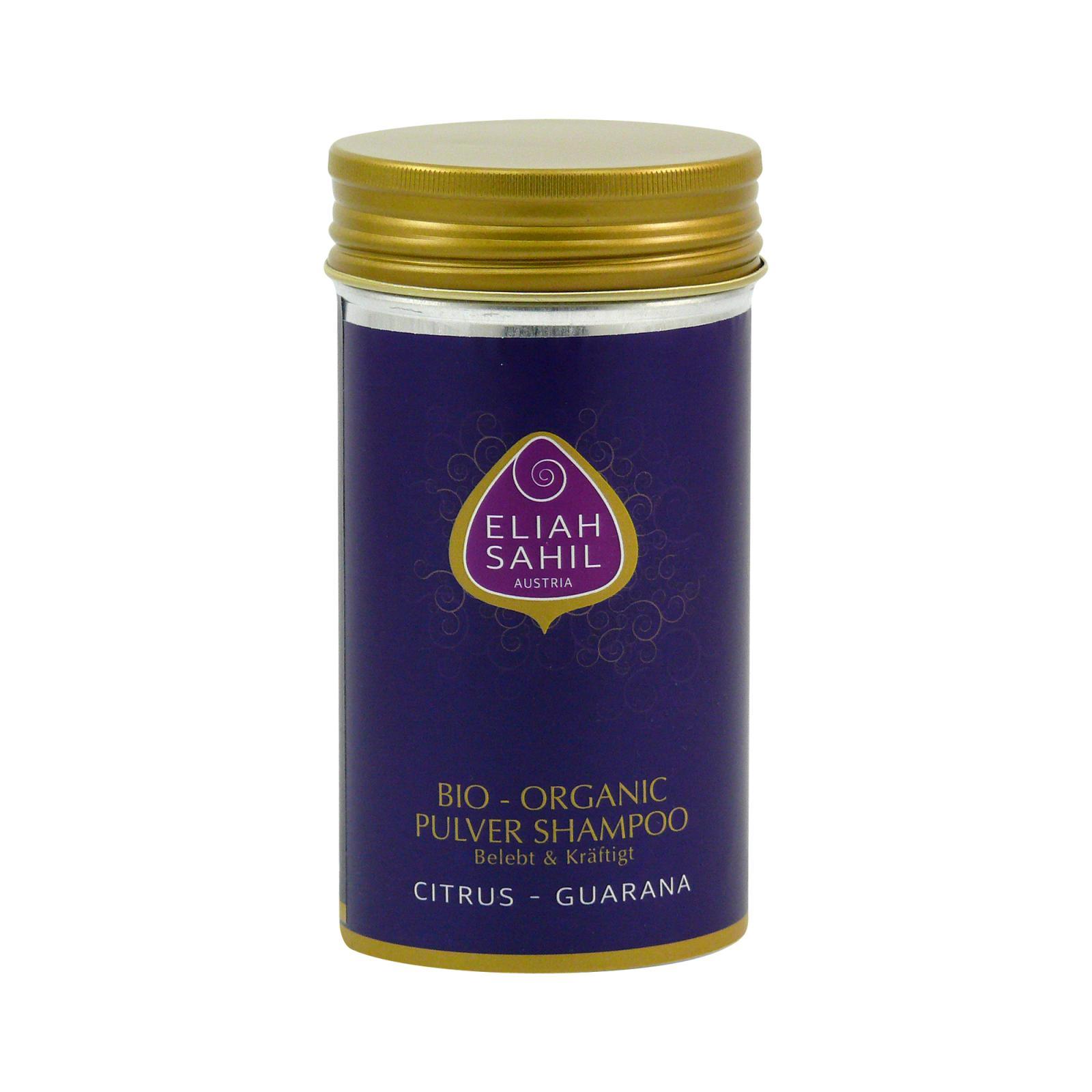 Eliah Sahil Ájurvédský práškový šampon proti vypadávání vlasů 100 g + DOPRAVA ZDARMA po celý rok!