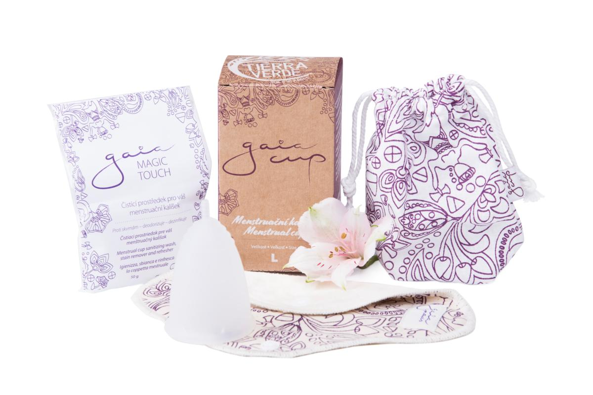 Gaia Cup menstruační kalíšek vel. L + DOPRAVA ZDARMA po celý rok!