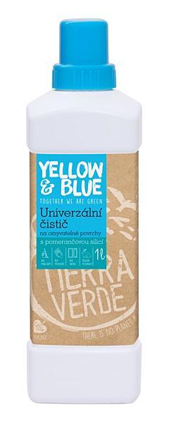 Yellow & Blue Univerzální čistič pro domácnost 1l + DOPRAVA ZDARMA po celý rok!