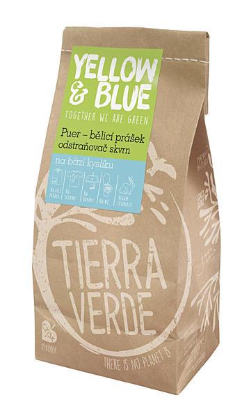 Yellow & Blue Bělící prášek PUER sáček 1kg + DOPRAVA ZDARMA po celý rok!