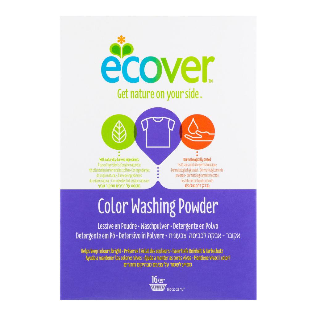 Ecover Prací prášek na barevné prádlo 1,2 kg + DOPRAVA ZDARMA po celý rok!