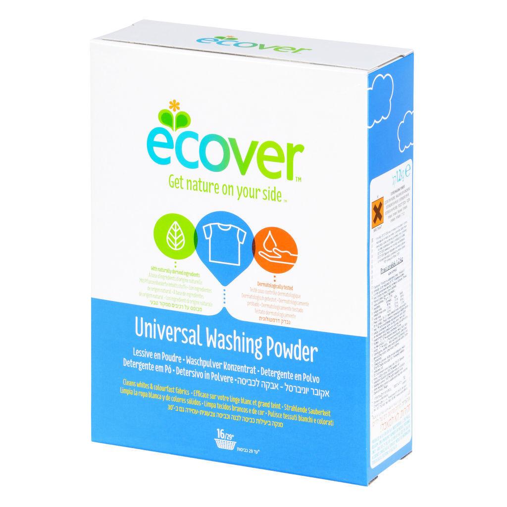 Ecover Prací prášek univerzální 1,2 kg + DOPRAVA ZDARMA po celý rok!