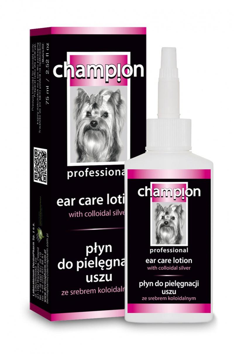 Champion Profesionální roztok na čištění uší 75ml + DOPRAVA ZDARMA po celý rok!