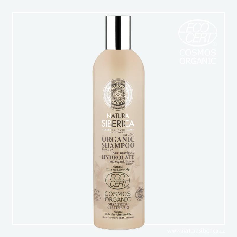 Natura Siberica Šampon pro citlivou pokožku hlavy Neutrální 400 ml + DOPRAVA ZDARMA po celý rok!