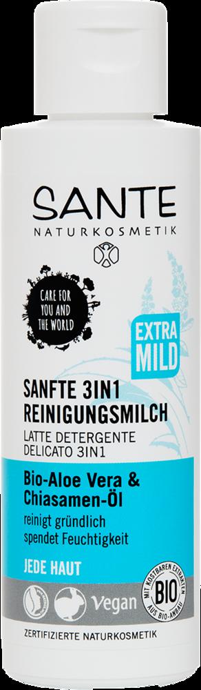 Sante Čistící mléko 3v1 BIO aloe vera a chia olej 125 ml + DOPRAVA ZDARMA po celý rok!